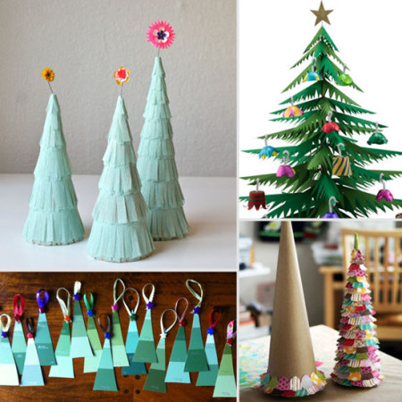 Saturday Morning Craft Club – Holiday Paper Trees