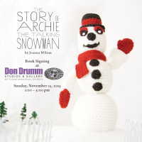 Meet the Author: Joanna Wilson, The Story of Archie the Talking Snowman