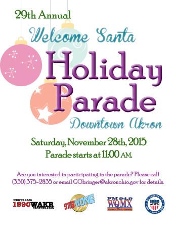 Welcome Santa Holiday Parade