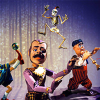 PUPPETS KAPOW! by the Frisch Marionettes