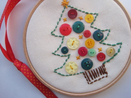 Button Embroidery Hoops