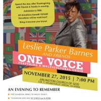 Leslie Parker Barns and Friends: One VoiceSpe