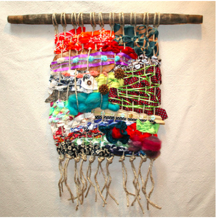 """7th Annual Crafty Mart Workshops: """"Tapestry Weaving"""""""