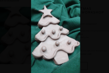 CLAY CHRISTMAS ORNAMENT WORKSHOP