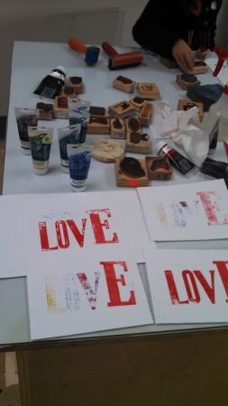 Crafty Mart Printmaking Workshop
