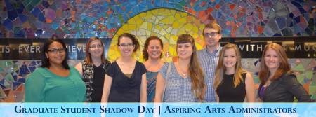 UA Arts Administration Prospective Graduate Student Shadow Day