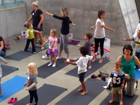 Creative Playdate: Yoga Shape Up: Geometry that Moves – P.M. Session