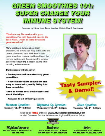 Green Smoothies 101: Super Charge Your Immune System!