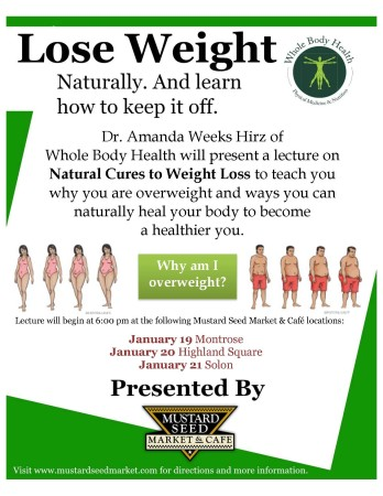 Lose Weight Naturally. And Learn How to Keep It Off.