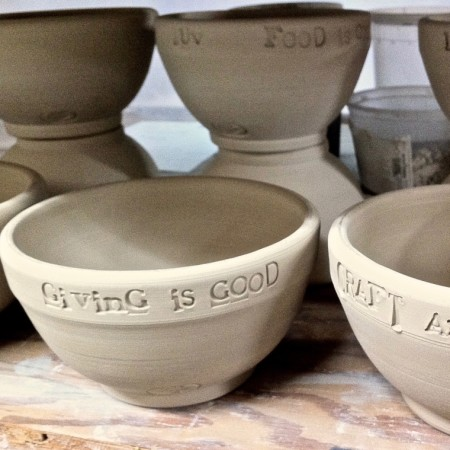 Make Your Mark: Contribute to the Empty Bowl Project