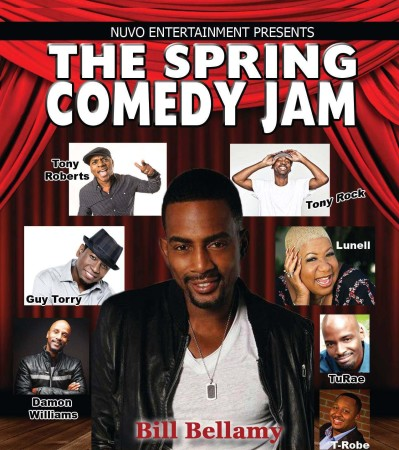 Nuvo Entertainment Group presents: The Spring Comedy Jam with Bill Bellamy