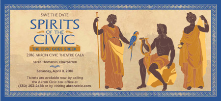 The Spirits of the Civic Gala - The Civic Goes Greek