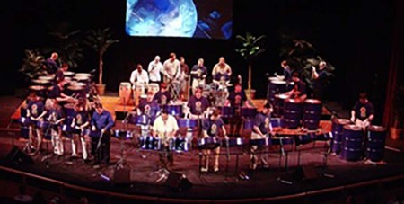 The University of Akron Steel Drum Band