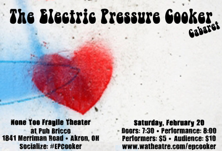 The Electric Pressure Cooker Cabaret feat. emcee Willy Kollman