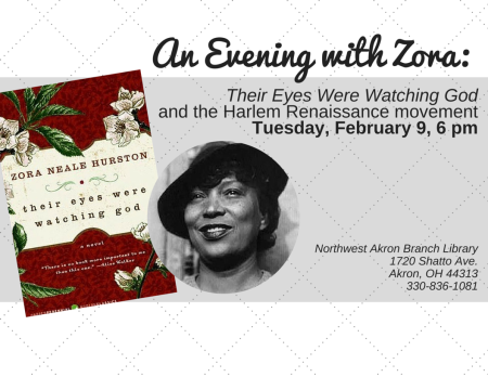 An Evening with Zora: Their Eyes Were Watching God and the Harlem Renaissance Movement