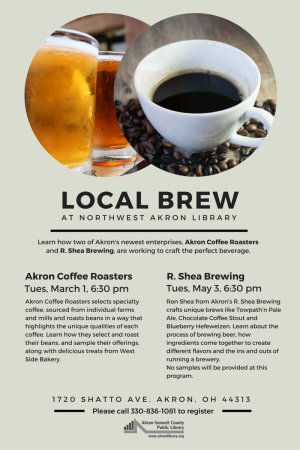 Local Brew at Northwest Akron Branch Library