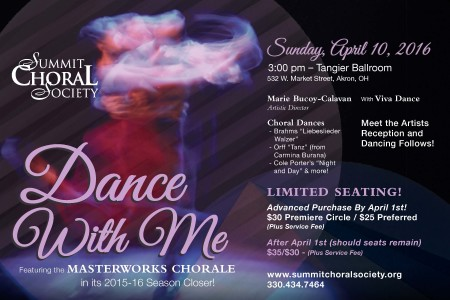 Summit Choral Society Presents: Dance with Me