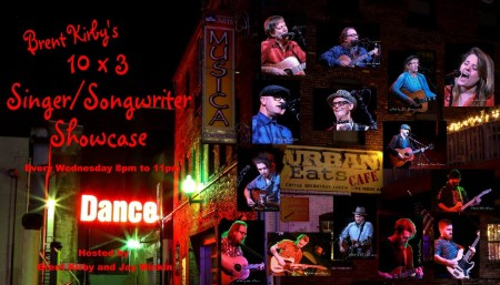 The 10 x 3 Songwriter / Band Showcase
