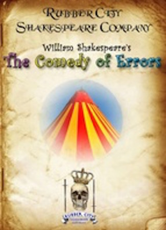 AUDITIONS FOR COMEDY OF ERRORS AT RUBBER CITY SHAKESPEARE COMPANY