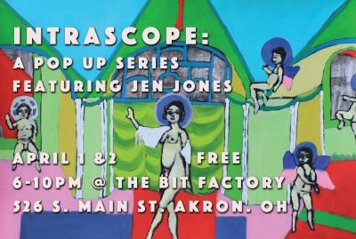 IntraScope: A Pop Up Series Featuring Jen Jones