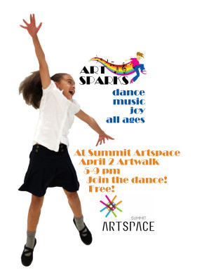Art Sparks at Artwalk! FREE Joy of Movement Sessions!