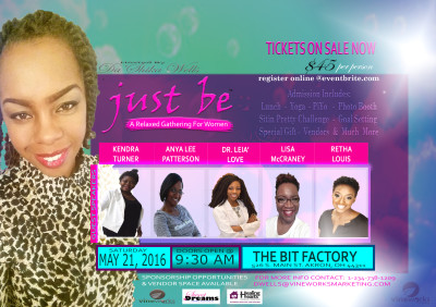 """""""Just Be"""": A Relaxed Gathering for Women"""