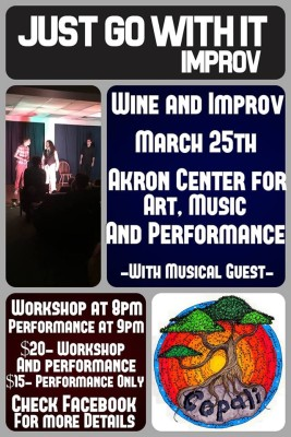 Just Go With It Improv - Wine and Improv Night, ft. Copali