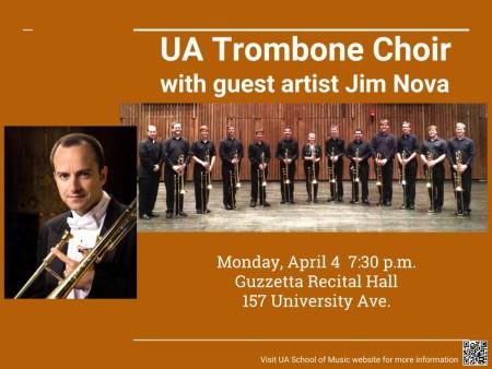 UA Trombone Choir with Jim Nova