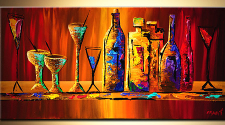 Wine & Canvas Night at The Center with Ingrid Westberg