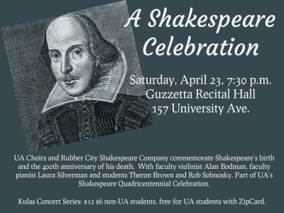 A Shakespeare Celebration