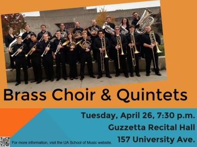 Brass Choir and Quintets