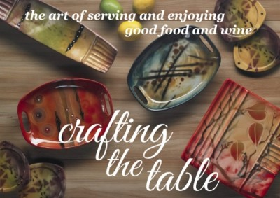 Crafting the Table: The art of serving and enjoying good food and wine.