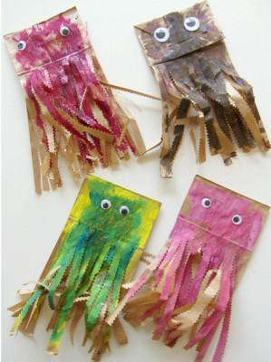 Let's Recycle : Paper Bag Kites