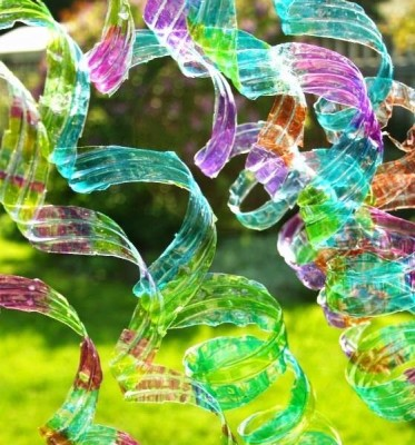 Let's Recycle : Water Bottle Wind Spirals