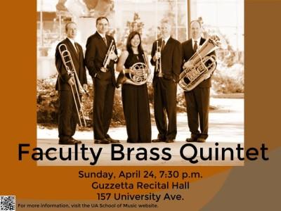 UA Faculty Brass Quintet