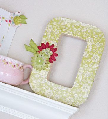 Upcycle Letter Art