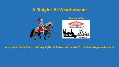 "A ""Knight"" at Weathervane"