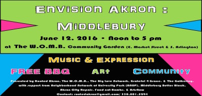 Envision Akron Middlebury: What is possible?
