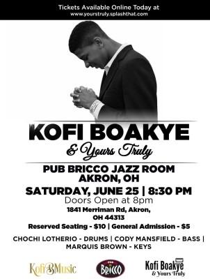 Kofi Boakye & Yours Truly Live @ Pub Bricco
