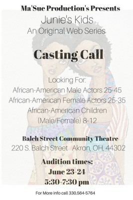 CASTING CALL: For African-American Actors