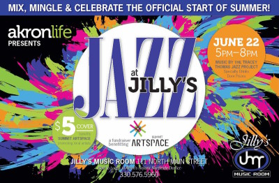 "akronlife presents... ""Jazz at Jilly's"" Mix & Mingle Event"