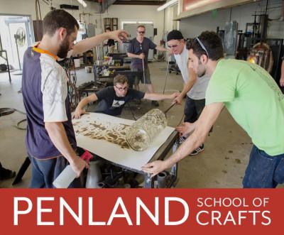 Penland School of Crafts Fall 2016/Spring 2017 Workshops