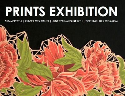 Prints Exhibition Summer 2016