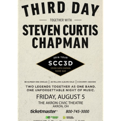 THIRD DAY together with STEVEN CURTIS CHAPMAN