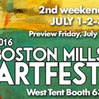Zeber-Martell at Boston Mills Artfest 2nd Weekend