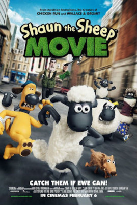 Movie Matinee Mondays: SHAUN THE SHEEP
