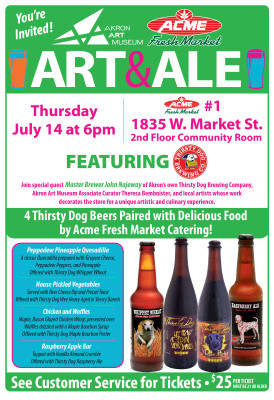 Art & Ale on Location: ACME Fresh Market #1