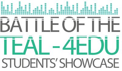 CALL FOR SUBMISSIONS: Battle of the Teal – 4EDU 2017