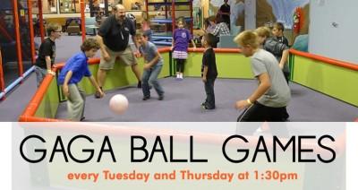 GAGA BALL GAMES!