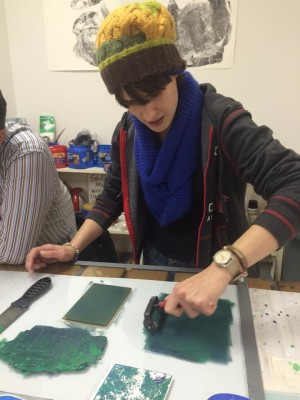 Mini Monotype Workshop